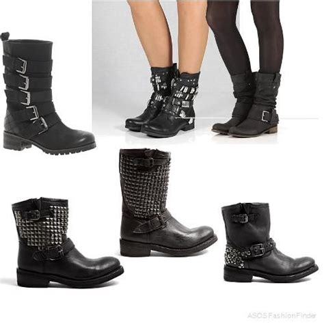 biker boots fashion biker boots by hobnob look and feel biker