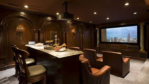Bachelor Pad Interior Design luxury home theater luxury entertainment room home