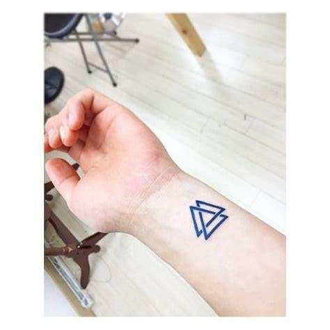valknut tattoo meaning valknut on the left wrist artist banul