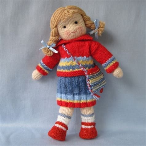 free knitting patterns for dolls clothes and toys tilly doll knitting pattern instant