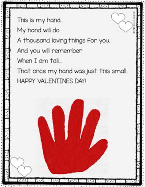 valentines poems for parents daughters and kindergarten 5 s day poems for