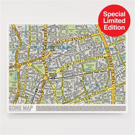 maps special edition song map special edition large format dorothy
