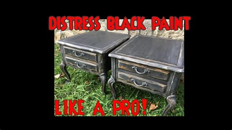 chalk paint kitchen cabinets youtube in exlary chalk diy black distressed furniture cabinets w chalk paint