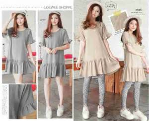 Dress Katun Army Import Fashion Wanitacewekmaxi Dress dress katun murah i l o v e f a s h i o n s s