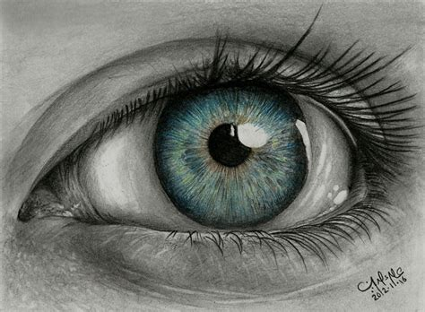 A Drawing Of An Eye by Drawing Eye By Alaadin On Deviantart
