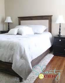 Upholstered Platform Bed Diy Diy Platform Bed And Headboard Things To Show Maribeth