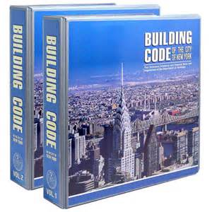 City Of Building Code 1968 Building Code Of The City Of New York With 2 Updates