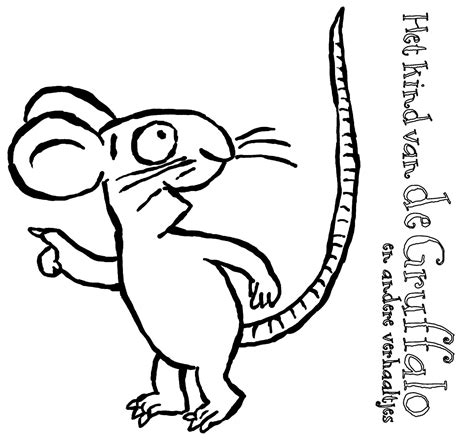 Logo Gruffalo Coloring Pages Gruffalo Colouring Pages To Print