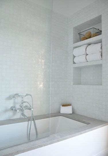 recessed shelves in bathroom recessed shelves over tub beautiful bathrooms pinterest