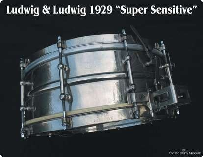 Chrome Search Sensitive Ludwig Ludwig Sensitive 1929 Chrome Drum Percussion For Sale Nick Hopkin Drums