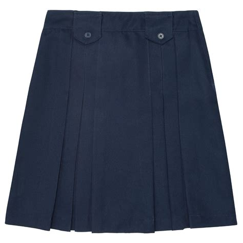 at school by toast front pleated skirt with tabs