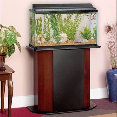 Stand Galon Aqua aqua culture deluxe 20 29 gallon aquarium stand walmart