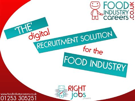 food business work and employment by pixelliebe a royalty food industry careers media pack 2010
