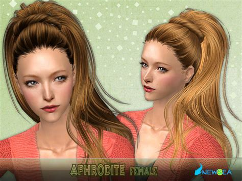 the sims 2 downloads fringe hairstyles newsea sims2 hair j046f aphrodite