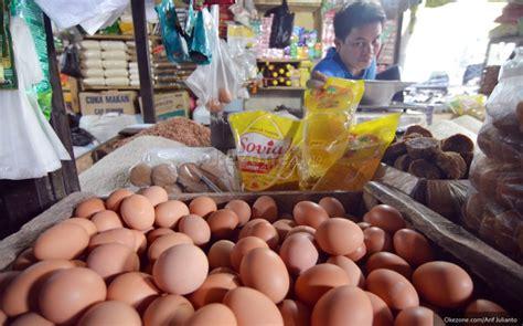 Penyebab Minyak Goreng Naik harga telur dan minyak goreng naik tipis beras masih stabil okezone ekonomi
