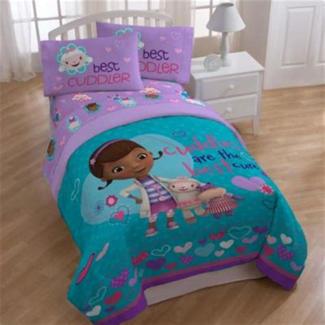 doc mcstuffins full size bedding buy disney 174 doc mcstuffins twin sheet set from bed bath