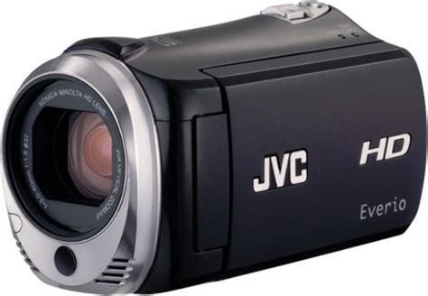 Memory Card Handycam Jvc new jvc everio gz hm340 dual memory hd camcorder 16gb memory and sdhc card slot 171 my
