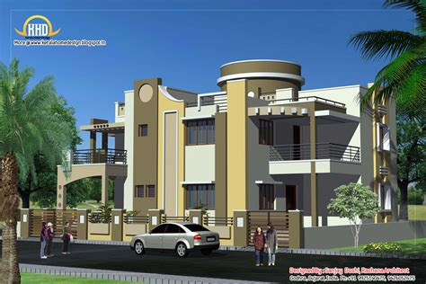 duplex house plans with elevation duplex house plan and elevation 3122 sq ft kerala