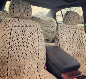 Hippie Car Seat Covers For Sale Boho Crochet Seat Covers