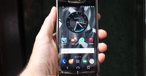 vertu phone touch screen vertu signature touch 2015 hands on digital trends