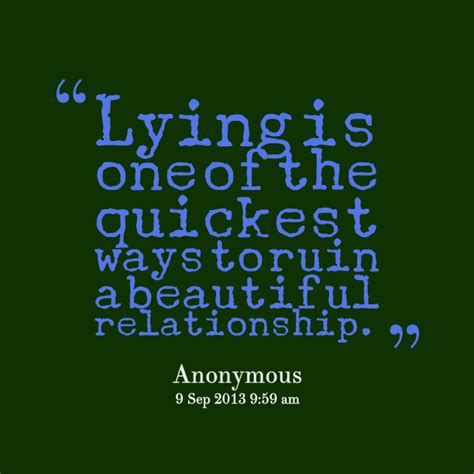 quotes about lying lie quotes for relationships quotesgram