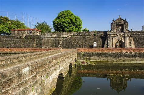 walking   intramuros philippines