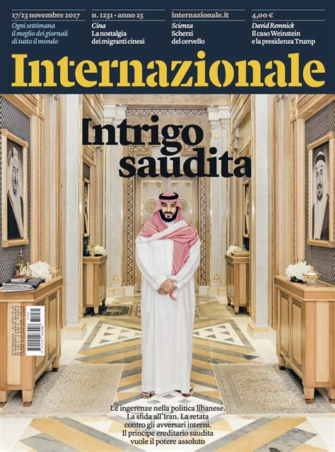design magazine saudi prince mohammed bin salman by luca locatelli on the cover