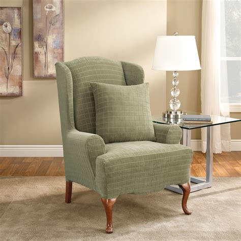 Wing Chair Slipcovers How To Make Slipcover For Wingback Wingback Sofa Slipcovers