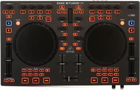 Behringer Cmd Studio 4a Alat Dj 4 Deck Soundcard Midi Controller behringer cmd studio 4a 4 deck dj controller sweetwater