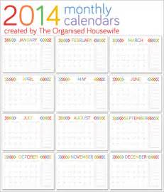 printable monthly calendar template 2014 monthly calendar 2014 new calendar template site