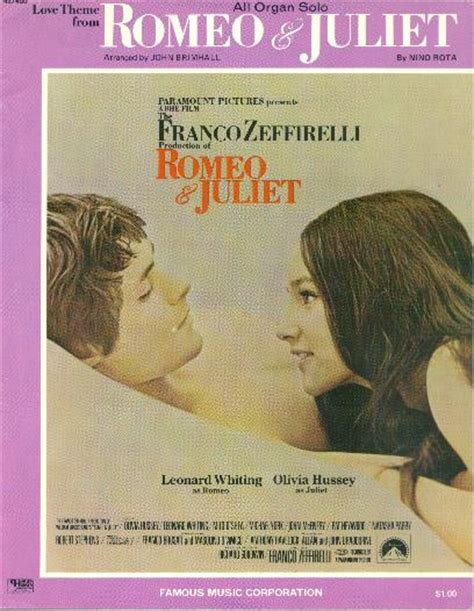 theme song romeo and juliet 1968 the music of romeo and juliet 1968