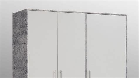 kleiderschrank betonoptik kleiderschrank jupiter dreht 252 renschrank schrank beton und