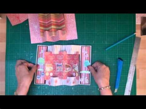 youtube carding tutorial concertina card tutorial card making magic com youtube
