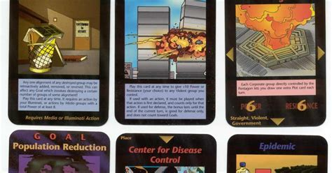 illuminati card cards massdeceptions elite1995 cards of perdicted chaos