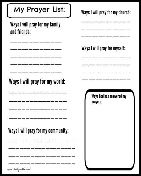printable children s prayer journal printable prayer journals for kids cheri gamble