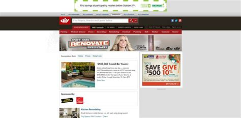 Dont Hate Renovate Sweepstakes - don t hate renovate sweepstakes