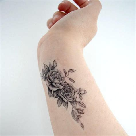 9 inspirational flower tattoo designs black rose tattoos