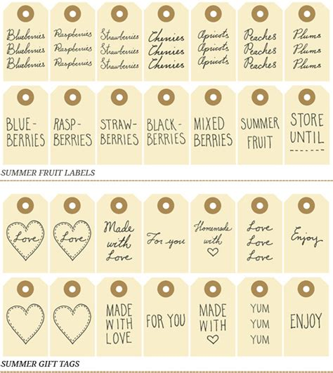 printable labels homemade gifts the petit cadeau free printables