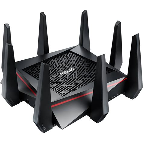 Asus Routers asus rt ac5300 tri band wireless ac5300 gigabit router rt