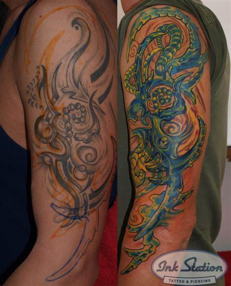 biomechanik cover up tattoo ink station