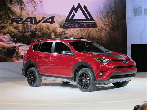 Toyota Rava4 Toyota Rav4 Adventure Brings Rugged Look Not Much Else