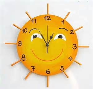 clock made of clocks home made wall clocks for the kid s room