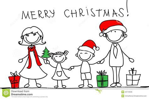 imagenes de navidad para la familia y amigos familia de la navidad vector ilustraci 243 n del vector
