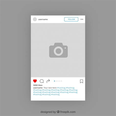 instagram layout help instagram template design vector free download