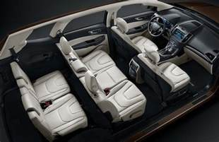Ford Edge Seating Ford Edge Gets Longer 7 Seat Version For China At