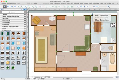 software to create floor plans building plan software create great looking building