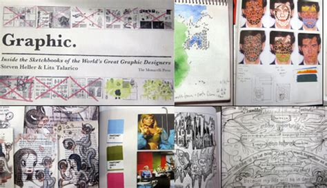 graphic inside the sketchbooks 0500288844 steven heller 2010 news archive