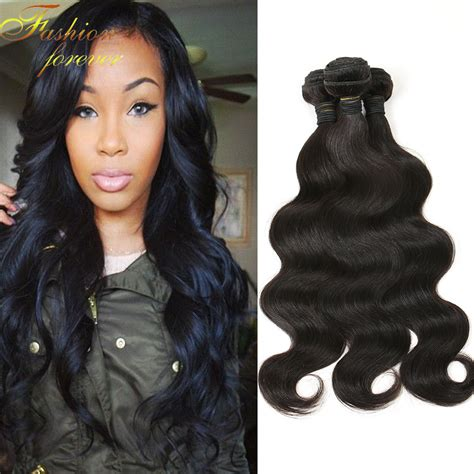 show pic of body wave wwave hair style 6a unprocessed brazilian virgin hair body wave 3 bundles