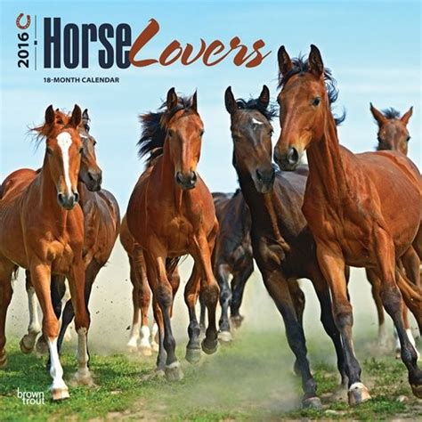 Calendar 2018 Horses Calendars 2018 On Europosters