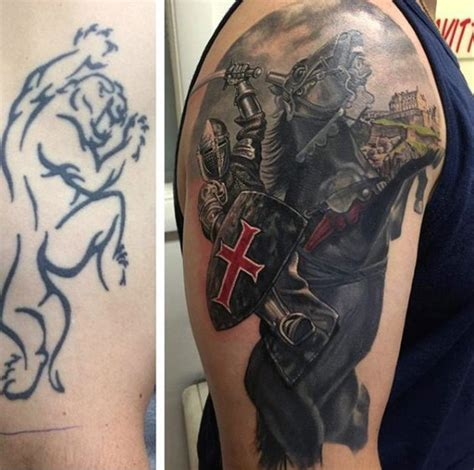 cover up tattoos for men top 80 best designs for brave ideas